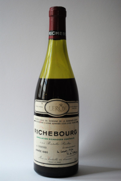 1980 Richebourg Grand Cru (7cm)